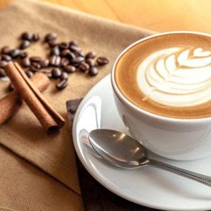Café i AAA-läge i city