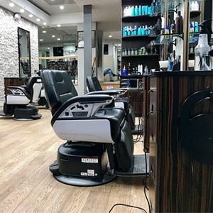 Välvårdad och fin frisörsalong
